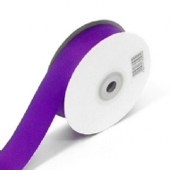 Purple Grosgrain Ribbon 10mm X 25 Meters With Free Pack Of 12 White Tags